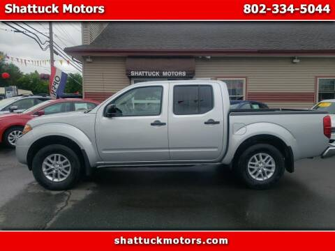 2019 Nissan Frontier for sale at Shattuck Motors - NEKtrucks.com in Newport VT