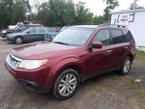 2012 Subaru Forester for sale at Classic Heaven Used Cars & Service in Brimfield MA