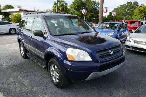 2004 Honda Pilot for sale at J Linn Motors in Clearwater FL