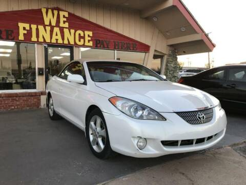 2005 Toyota Camry Solara for sale at Caspian Auto Sales in Oklahoma City OK