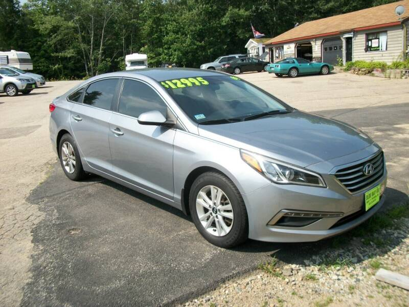 2015 Hyundai Sonata for sale at Olde Bay RV in Rochester NH