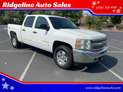 2013 Chevrolet Silverado 1500 for sale at Ridgeline Auto Sales in Saint George UT