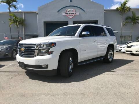 2015 Chevrolet Tahoe for sale at Ven-Usa Autosales Inc in Miami FL