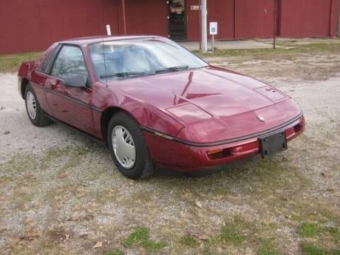 1987 Pontiac Fiero for sale at Classic Car Deals in Cadillac MI