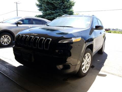 2018 Jeep Cherokee for sale at Revolution Auto Group in Idaho Falls ID