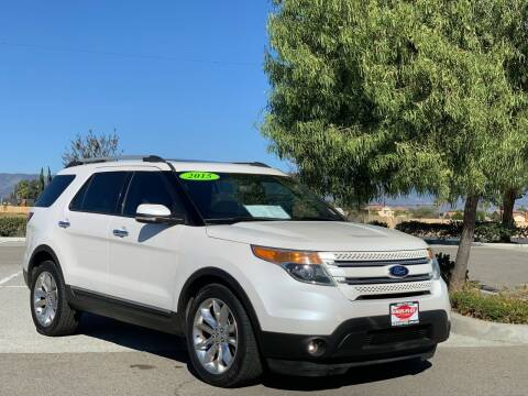 2015 Ford Explorer for sale at Esquivel Auto Depot in Rialto CA