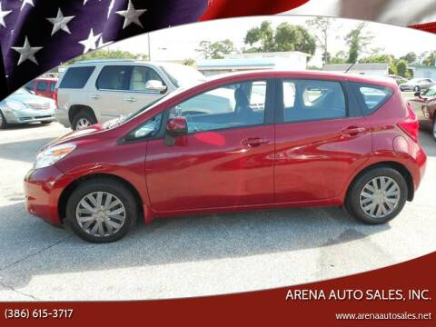 2014 Nissan Versa Note for sale at ARENA AUTO SALES,  INC. in Holly Hill FL