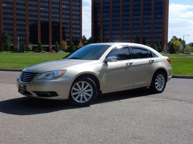 2013 Chrysler 200 for sale at Pammi Motors in Glendale CO