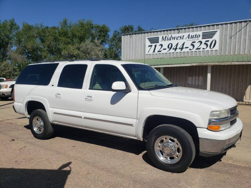 2001 Chevrolet Suburban for sale at Midwest Auto of Siouxland, INC in Lawton IA