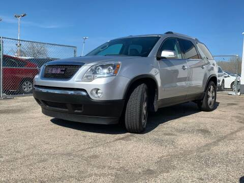 2010 GMC Acadia for sale at HIGHLINE AUTO LLC in Kenosha WI