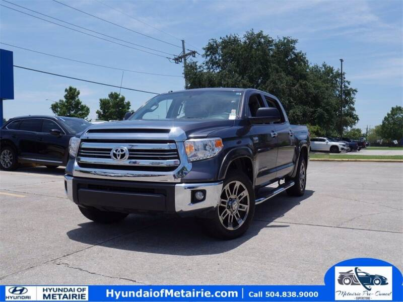 2016 Toyota Tundra for sale at Metairie Preowned Superstore in Metairie LA