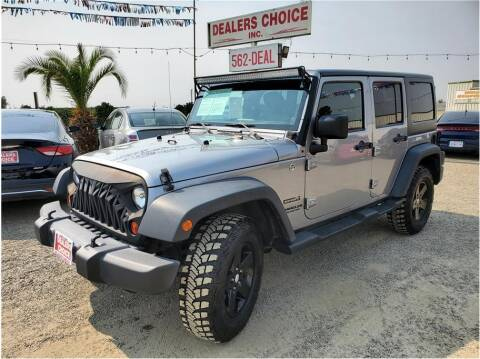 2013 Jeep Wrangler Unlimited for sale at Dealers Choice Inc in Farmersville CA