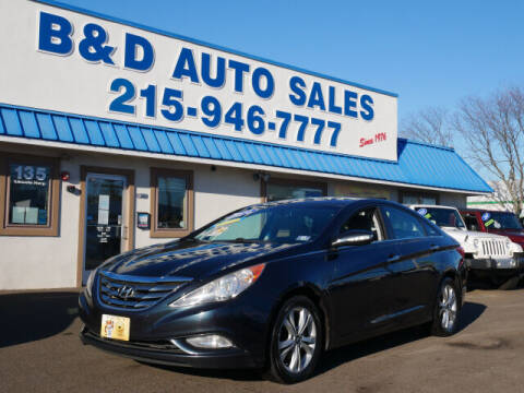 2011 Hyundai Sonata for sale at B & D Auto Sales Inc. in Fairless Hills PA