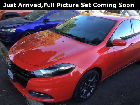 2016 Dodge Dart for sale at Royal Moore Custom Finance in Hillsboro OR