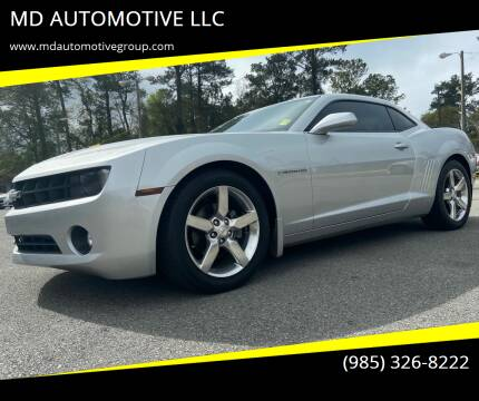 2012 Chevrolet Camaro for sale at MD AUTOMOTIVE LLC in Slidell LA