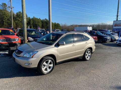 2007 Lexus RX 350 for sale at Billy Ballew Motorsports in Dawsonville GA
