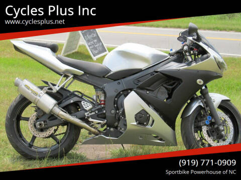 2003 Yamaha YZF-R6 for sale at Cycles Plus Inc in Garner NC