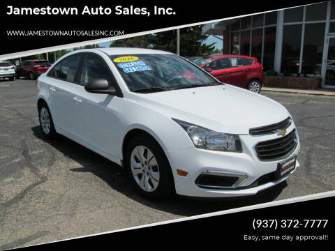 2016 Chevrolet Cruze Limited for sale at Jamestown Auto Sales, Inc. in Xenia OH