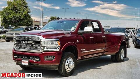 2021 RAM Ram Pickup 3500 for sale at Meador Dodge Chrysler Jeep RAM in Fort Worth TX