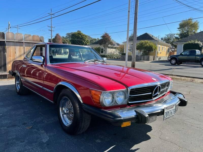 1979 Mercedes-Benz 450 SL for sale at Dodi Auto Sales in Monterey CA
