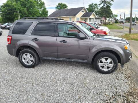2012 Ford Escape for sale at MIKE'S CYCLE & AUTO in Connersville IN