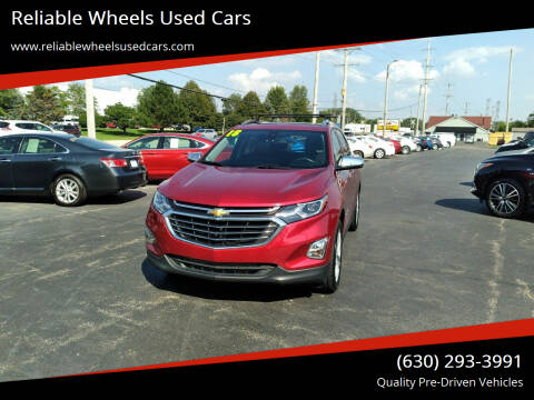 2018 Chevrolet Equinox for sale at Reliable Wheels Used Cars in West Chicago IL