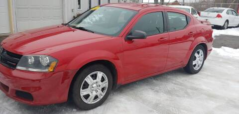 2013 Dodge Avenger for sale at Superior Motors in Mount Morris MI