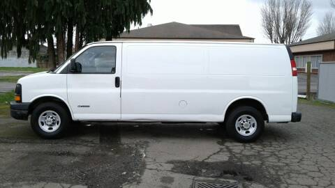 2003 Chevrolet Express Cargo for sale at Car Guys in Kent WA
