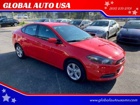 2016 Dodge Dart for sale at GLOBAL AUTO USA in Saint Paul MN