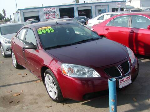 2008 Pontiac G6 for sale at Primo Auto Sales in Merced CA