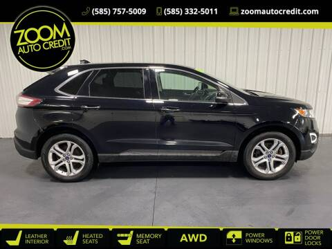 2018 Ford Edge for sale at ZoomAutoCredit.com in Elba NY