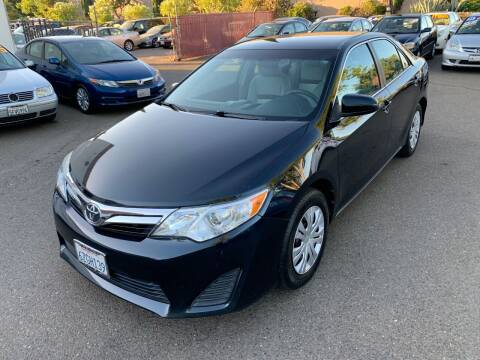 2012 Toyota Camry for sale at C. H. Auto Sales in Citrus Heights CA