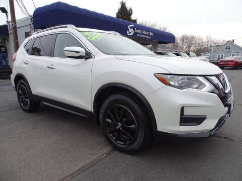 2017 Nissan Rogue for sale at Sandy Motors Inc in Coventry RI