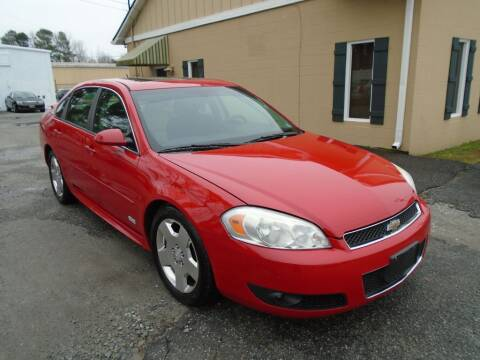 2009 Chevrolet Impala for sale at Ridetime Auto in Suffolk VA