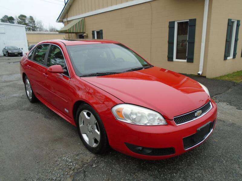 2009 Chevrolet Impala for sale at Ridetime Auto in Suffolk VA