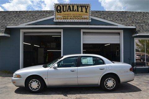 2002 Buick LeSabre for sale at Quality Pre-Owned Automotive in Cuba MO