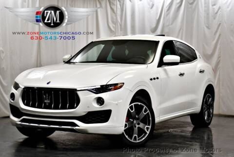 2017 Maserati Levante for sale at ZONE MOTORS in Addison IL