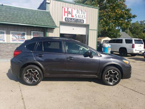 2014 Subaru XV Crosstrek for sale at H & L AUTO SALES LLC in Wyoming MI