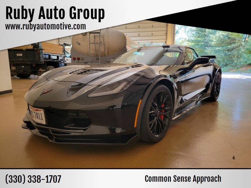 2017 Chevrolet Corvette for sale at Ruby Auto Group in Hudson OH