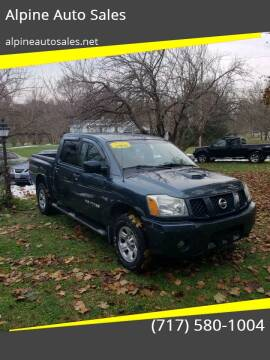 2006 Nissan Titan for sale at Alpine Auto Sales in Carlisle PA