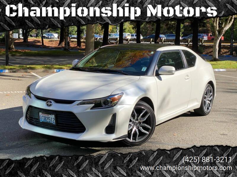 2016 Scion tC for sale at Championship Motors in Redmond WA