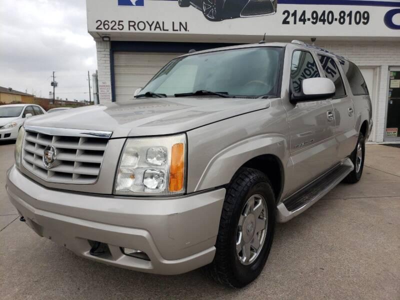 2004 Cadillac Escalade ESV for sale at Best Royal Car Sales in Dallas TX
