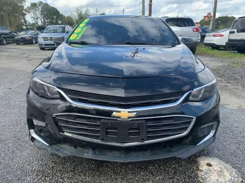 2018 Chevrolet Malibu for sale at Auto Mart in North Charleston SC