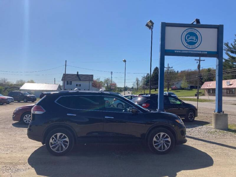 2015 Nissan Rogue for sale at Corry Pre Owned Auto Sales in Corry PA