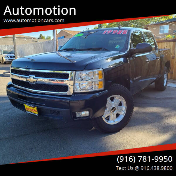 2010 Chevrolet Silverado 1500 for sale at Automotion in Roseville CA