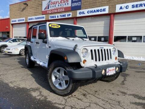 2012 Jeep Wrangler Unlimited for sale at PAYLESS CAR SALES of South Amboy in South Amboy NJ