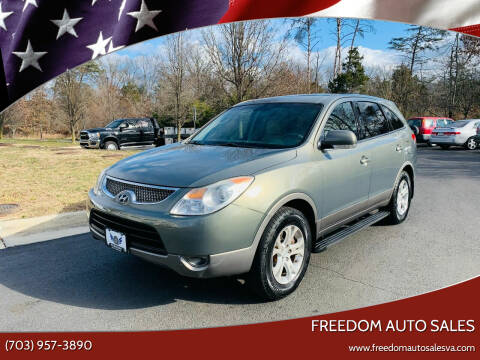 2009 Hyundai Veracruz for sale at Freedom Auto Sales in Chantilly VA