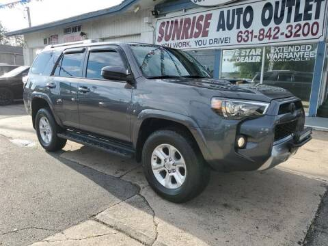 2016 Toyota 4Runner for sale at Sunrise Auto Outlet in Amityville NY