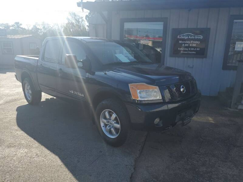 2012 Nissan Titan for sale at Rutledge Auto Group in Palestine TX