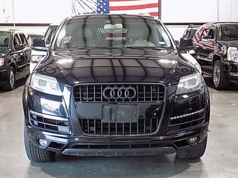 2013 Audi Q7 for sale at Texas Motor Sport in Houston TX